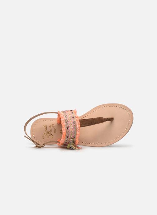 Sandali e scarpe aperte Initiale Paris Nessia Marrone immagine sinistra