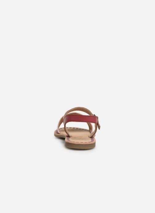 Sandals Initiale Paris Ninon Pink view from the right