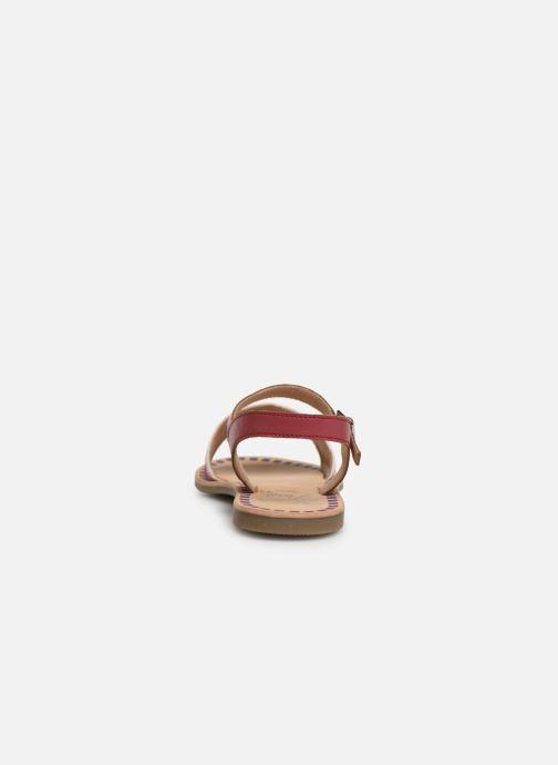 Sandalen Initiale Paris Ninon Roze rechts