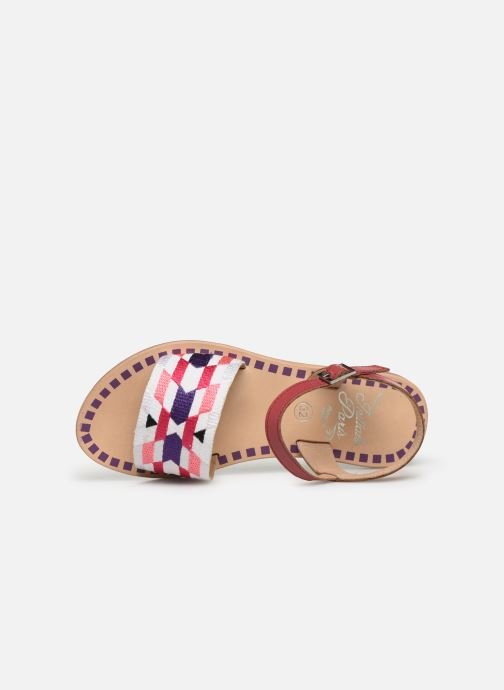Sandals Initiale Paris Ninon Pink view from the left