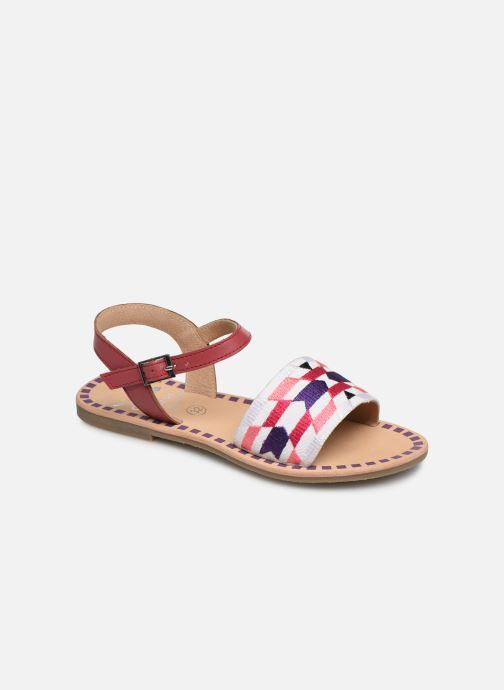 Sandals Initiale Paris Ninon Pink detailed view/ Pair view