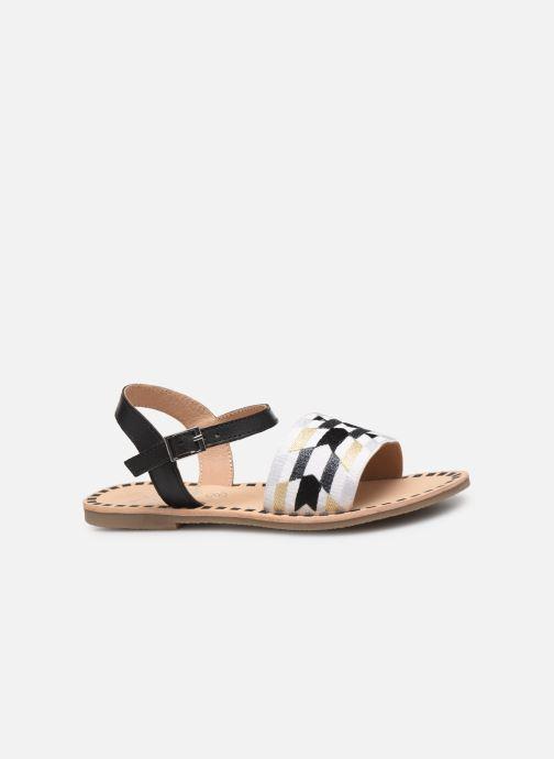 Sandalen Initiale Paris Ninon schwarz ansicht von hinten