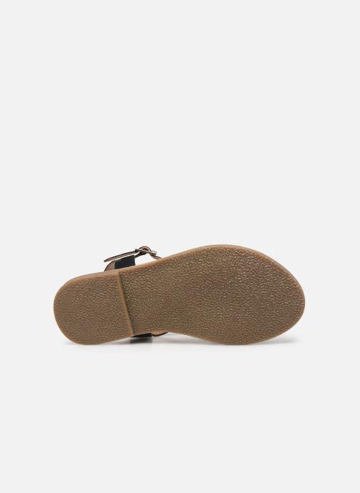Sandales et nu-pieds Initiale Paris Ninon Noir vue haut