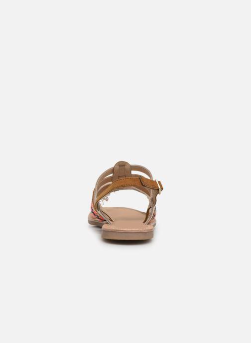 Sandali e scarpe aperte Initiale Paris Noreen Marrone immagine destra