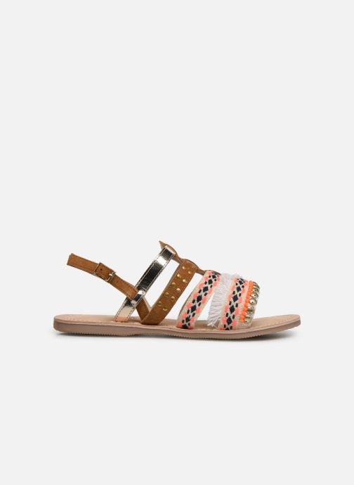 Sandalen Initiale Paris Noreen braun ansicht von hinten