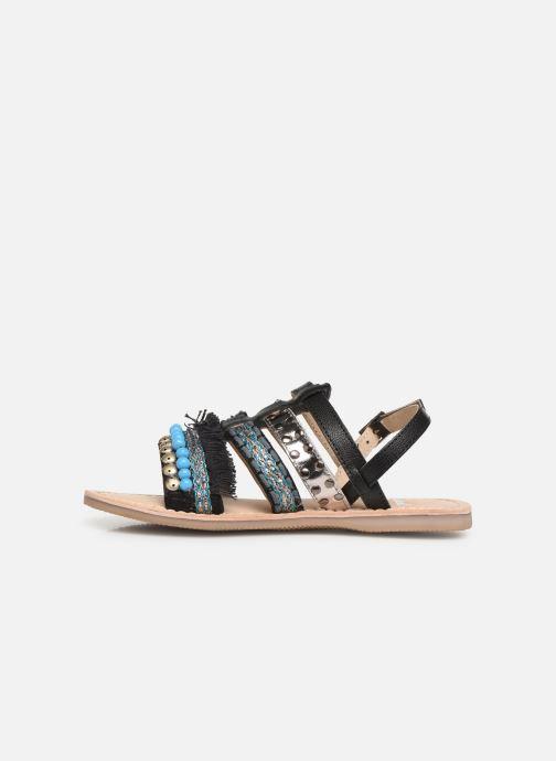 Sandalen Initiale Paris Noreen Zwart voorkant