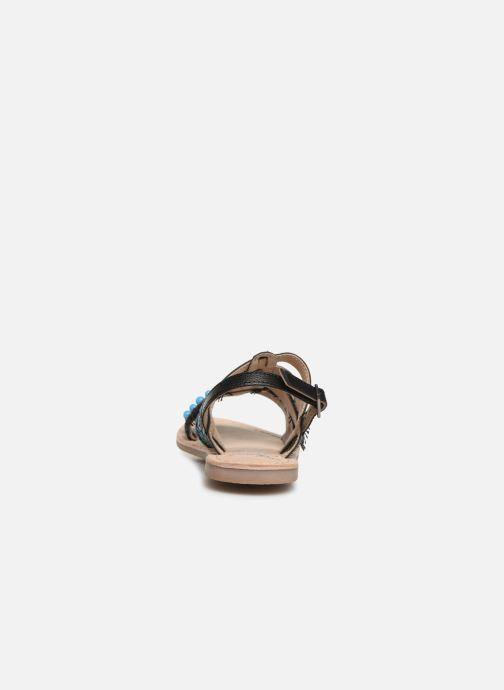 Sandals Initiale Paris Noreen Black view from the right
