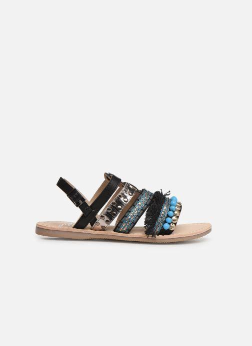 Sandales et nu-pieds Initiale Paris Noreen Noir vue derrière