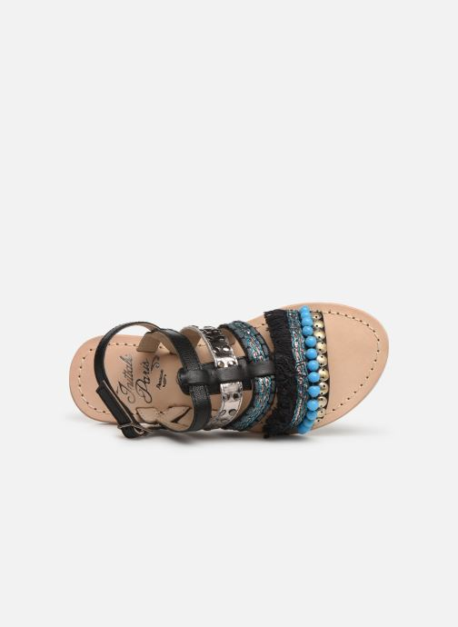 Sandals Initiale Paris Noreen Black view from the left