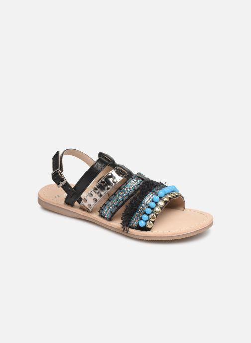 Sandales et nu-pieds Initiale Paris Noreen Noir vue détail/paire