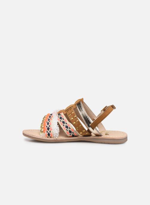 Sandalen Initiale Paris Noreen braun ansicht von vorne