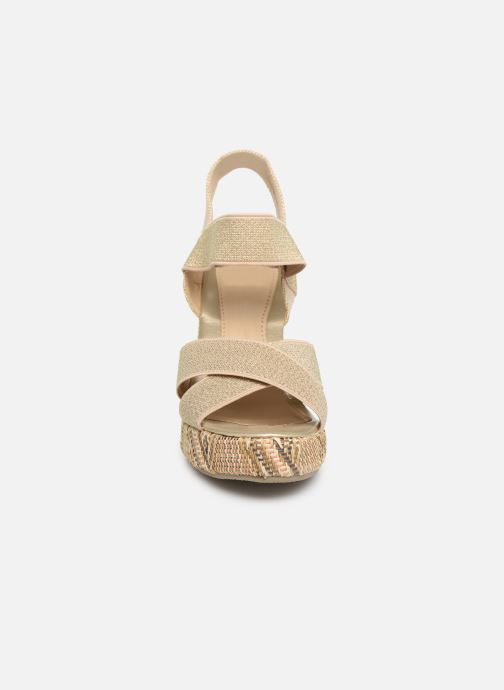 Sandalen Initiale Paris Stefana Goud en brons model