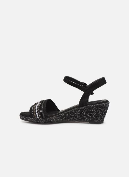 Sandali e scarpe aperte Initiale Paris Tami Nero immagine frontale