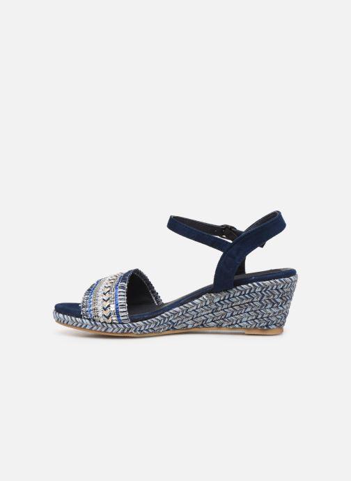 Sandales et nu-pieds Initiale Paris Tami Bleu vue face