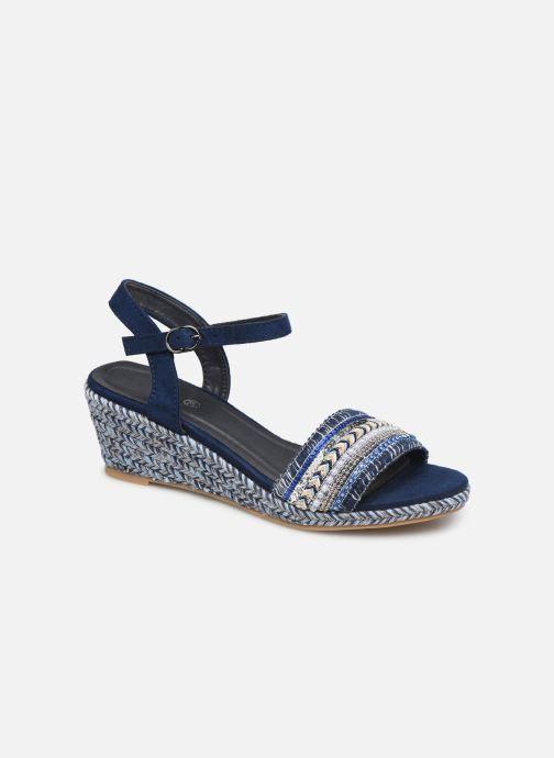 Sandales et nu-pieds Initiale Paris Tami Bleu vue détail/paire