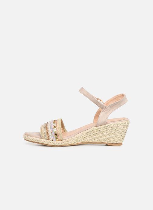 Sandalen Initiale Paris Tami Beige voorkant