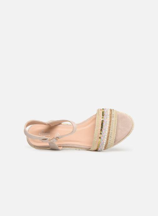Sandales et nu-pieds Initiale Paris Tami Beige vue gauche