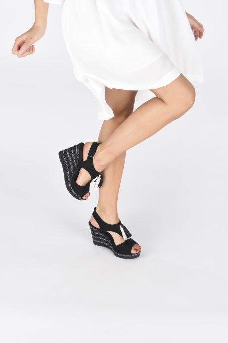 Sandalen Initiale Paris Tatami Zwart onder