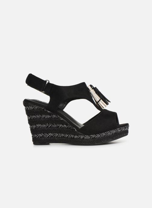 Sandalen Initiale Paris Tatami Zwart achterkant