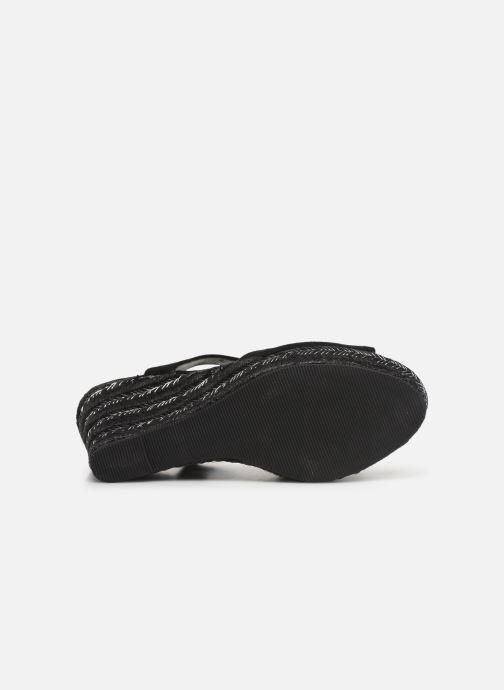 Sandalen Initiale Paris Tatami Zwart boven