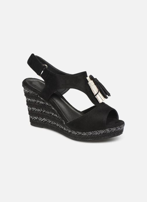 Sandalen Initiale Paris Tatami Zwart detail