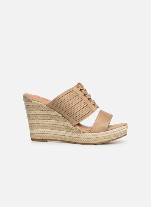 Sandales et nu-pieds Initiale Paris Tatanka Beige vue derrière