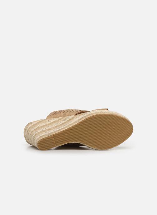 Sandalen Initiale Paris Tatanka beige ansicht von oben