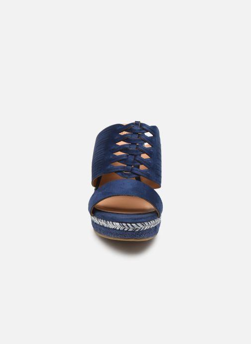 Sandals Initiale Paris Tatanka Blue model view