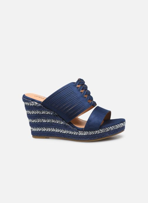Sandals Initiale Paris Tatanka Blue back view
