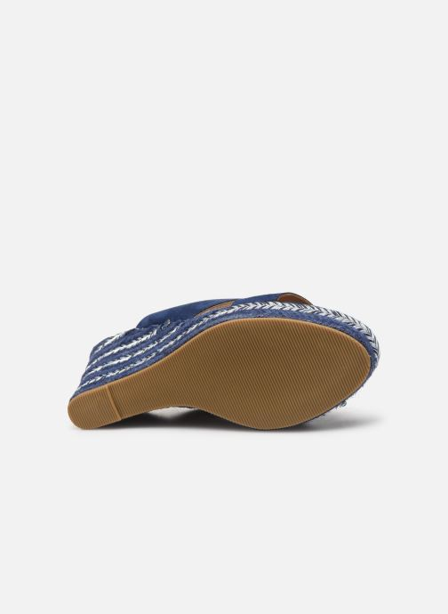 Sandals Initiale Paris Tatanka Blue view from above