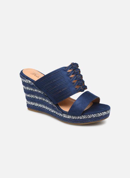 Sandals Initiale Paris Tatanka Blue detailed view/ Pair view