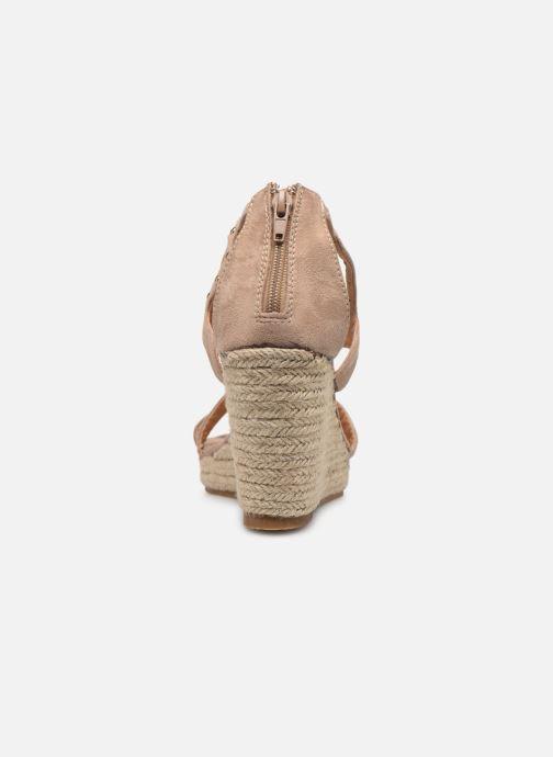Sandali e scarpe aperte Initiale Paris Tom Beige immagine destra
