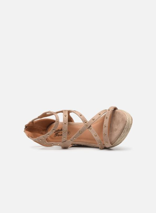 Sandalen Initiale Paris Tom Beige links