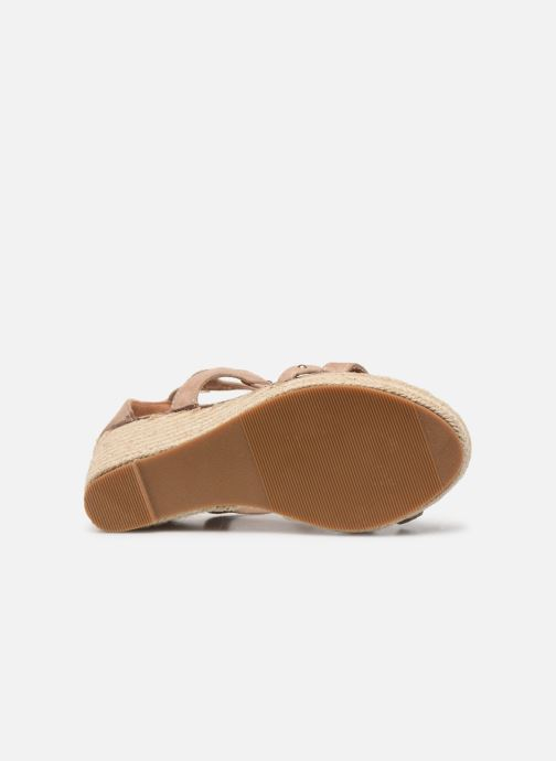 Sandali e scarpe aperte Initiale Paris Tom Beige immagine dall'alto