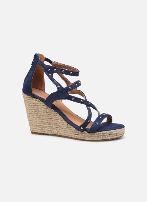 Sandales et nu-pieds Initiale Paris Tom Bleu vue derrière