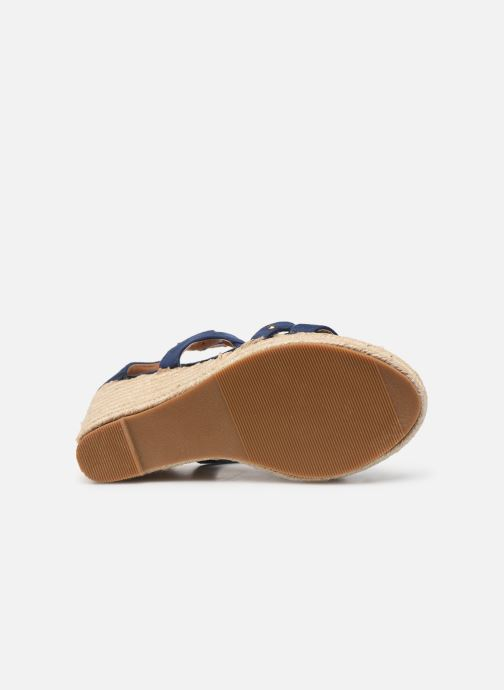 Sandales et nu-pieds Initiale Paris Tom Bleu vue haut