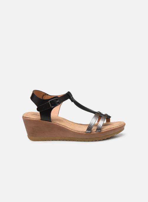Sandalen Initiale Paris Tya Zwart achterkant