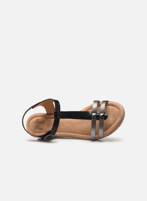 Sandalen Initiale Paris Tya Zwart links