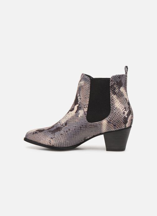 Boots en enkellaarsjes Initiale Paris Creatif Grijs voorkant