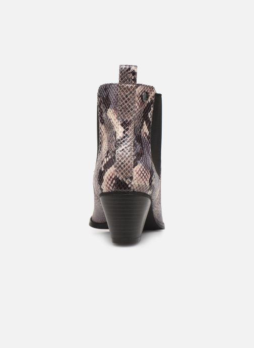 Boots en enkellaarsjes Initiale Paris Creatif Grijs rechts