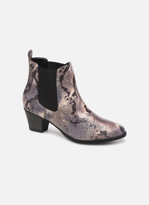 Boots en enkellaarsjes Initiale Paris Creatif Grijs detail