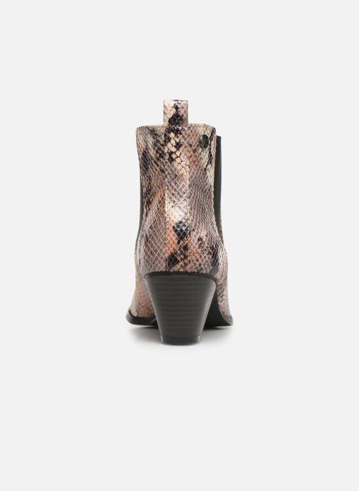 Bottines et boots Initiale Paris Creatif Beige vue droite