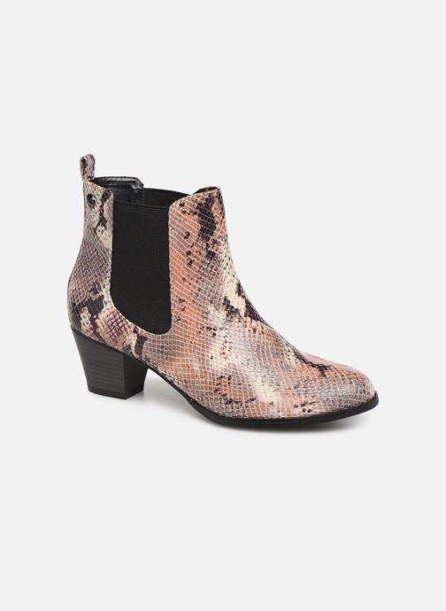 Bottines et boots Initiale Paris Creatif Beige vue détail/paire