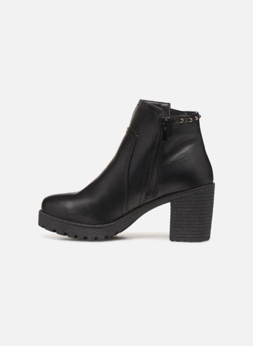 Bottines et boots Initiale Paris Mabella Noir vue face