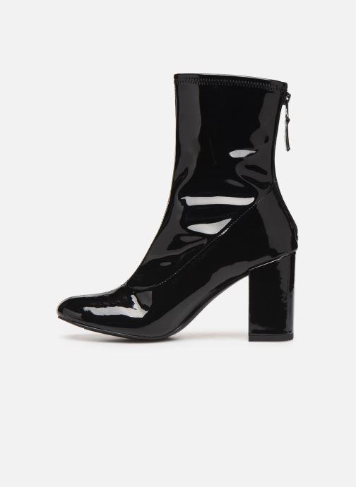 Bottines et boots Initiale Paris Opaline Noir vue face