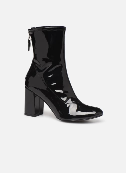 Ankelstøvler Initiale Paris Opaline Sort detaljeret billede af skoene