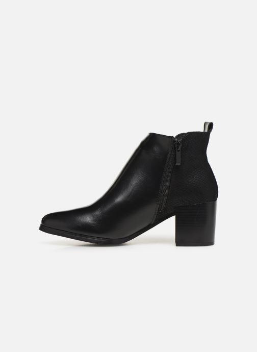 Ankle boots Initiale Paris Ravaza Black front view