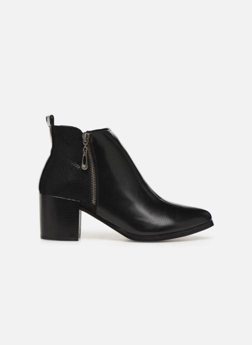 Ankle boots Initiale Paris Ravaza Black back view