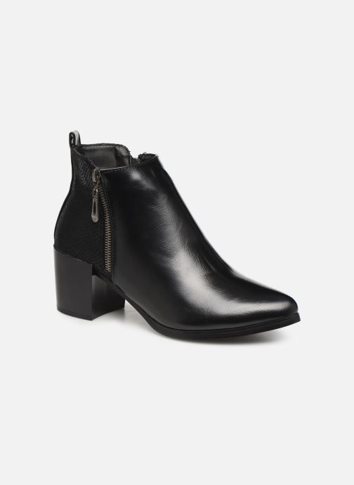 Ankle boots Initiale Paris Ravaza Black detailed view/ Pair view