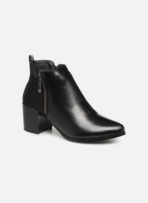Bottines et boots Initiale Paris Ravaza Noir vue détail/paire